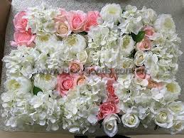 Flowers For Weddings High Quality Wall Of Large Flowers For Wedding Stage Manufacturers