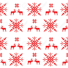 scandinavian seamless pattern royalty free cliparts vectors and