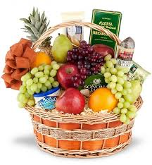 fruit and cheese gift baskets fruit baskets in edmond a better bloom florist