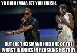Rgiii Memes - nfl memes on twitter kanye west s thoughts on rgiii s injury http