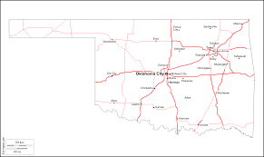 Blank Map Of Midwest States by Oklahoma Free Map Free Blank Map Free Outline Map Free Base