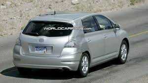 hydrogen fuel cell car toyota toyota mark x zio hydrogen fuel cell vehicle spied