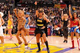 los angeles lakers cheerleader nba comics superhero batman wonder