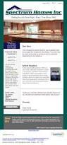 Metzler Home Builders by Constant Contact Newsletter Design U2013 Spectrum Home Builders Abd