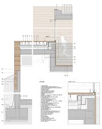 concrete wall technical details google search architecture
