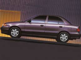 hyundai accent 1995 1995 hyundai accent overview cars com