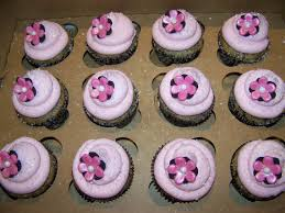 cupcakes for baby shower girl plumeria cake studio pink and black baby shower cupcakes
