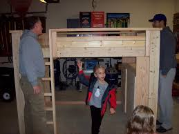 how to build a full size loft bed torres tidbits diy full size loft bed