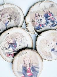 transferring images onto wood slice ornaments whiteaker