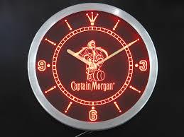 captain morgan neon bar light captain morgan bar signs mr sign