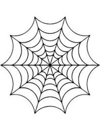 Drawn Spider Web Simple Pencil And In Color Drawn Spider Web Simple Spider Web Coloring Page