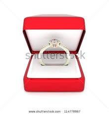 wedding ring in a box engagement ring box stock images royalty free images vectors