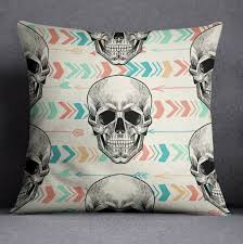 boho arrow and chevron skull duvet bedding sets ink and rags