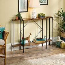 Living Room Console Table Sauder Accent Tables Living Room Furniture The Home Depot
