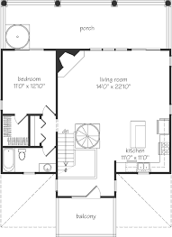 The Red Cottage Floor Plans by Red Bay Cottage Sullivan Design Company Southern Living House
