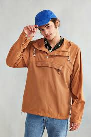 Without Walls Clothing by Without Walls Fabric Blocked Anorak Jacket For Men Lyst