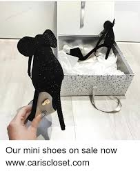 brooke ellis our mini shoes on sale now wwwcarisclosetcom meme