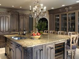 Painting Wood Laminate Kitchen Cabinets Cabinet Great Distressed Kitchen Cabinets Design Cream Distressed