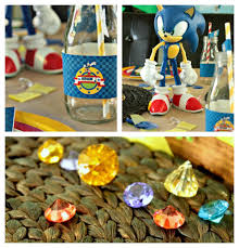 cupcake wishes birthday dreams real parties adam sonic the sonic party ideas supplies the hedgehog toys