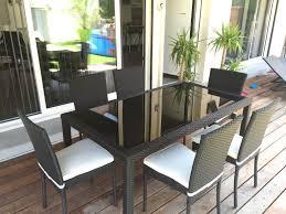 Cdiscount Table De Jardin by Table De Jardin Chaises Table Exterieur 4 Personnes Maisonjoffrois