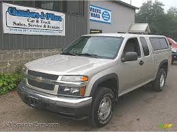 chevy colorado silver 2005 chevrolet colorado z71 extended cab 4x4 in silver birch