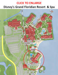 Disney Florida Map by Review The Villas At Disney U0027s Grand Floridian Resort U0026 Spa