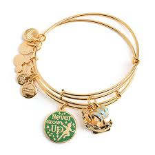 set bracelet images Your wdw store disney alex and ani bracelet peter pan bangle set jpg