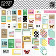 pocket pages me and my big ideas pocket pages themed cards friends