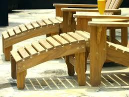 Ottoman Plans Adirondack Chairs With Ottoman Adirondack Chair Ottoman Plans Free