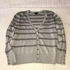 silver cardigan sweater 74 worthington sweaters worthington silver cardigan sweater