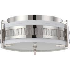 Industrial Flush Mount Lighting Nuvo 60 4446 3 Light Medium Flush Mount Ceiling Light Diesel