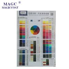 auto body color place samples car paint color chart buy color