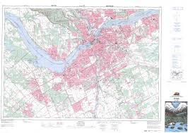 Ottawa Canada Map Buy Ottawa Topographic Map Nts Sheet 031g05 At 1 50 000 Scale