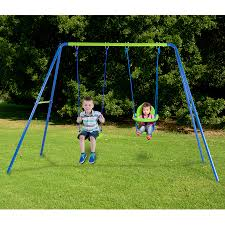 swing set for babies decorating endearing pure swan kmart swing sets for outdoor