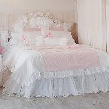 pink bedding set