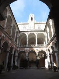 il cortile genova cortile centrale di palazzo tursi foto di palazzi dei rolli