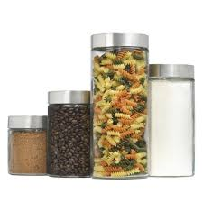 Kitchen Canister Sets Stainless Steel Canister Set Housepouch