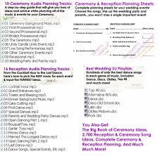 wedding plan schedule thebridgesummit co