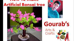 diy artificial bonsai tree how to make artificial tree