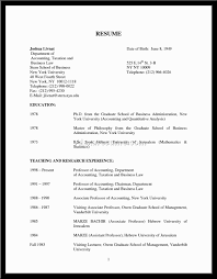 Sample Resume Format For Accounting Assistant by Resume Format Accounting
