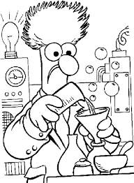 muppets christmas coloring pages most wanted sheets carol