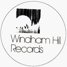 windham hill records black and white logo 1 1 2