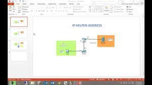 drawing layout en espanol ip helper address dhcp en router cisco español youtube