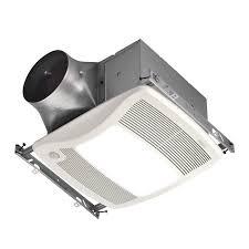 shop broan 0 3 sone 110 cfm white bathroom fan energy star at