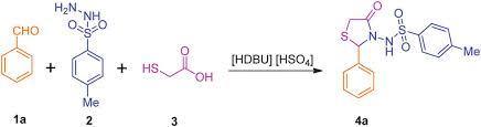 mycose b b si ge facile synthesis of n sulfonamidyl 4 thiazolidinone derivatives