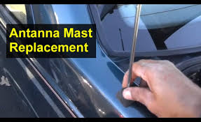 antenna mast replacement stick will not go up or down volvo 850