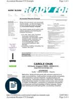 senior accountant sample resume 210 x 134 simple format sample