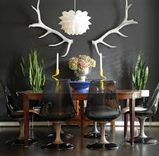 dining dining chairs dining table eclectic indoor plants mix