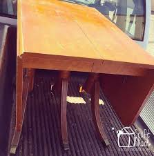 Vintage Drop Leaf Table Vintage Drop Leaf Table Gets Some Tlc Hometalk