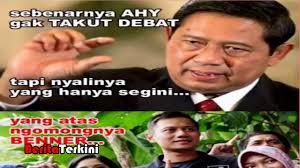 Kumpulan Meme - kumpulan meme lucu agus yudhoyono takut debat dari netizen youtube
